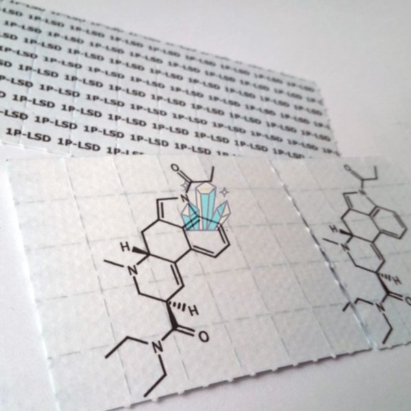 Buy 1P-LSD 100mcg Blotters cheap online 1 - Coinstar Chemicals